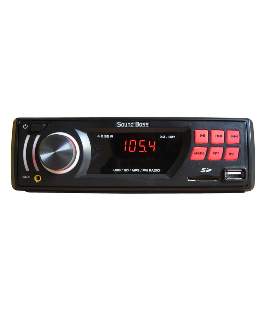 Sound Boss Car Stereo Features Amplifier Type 4 Channel Type