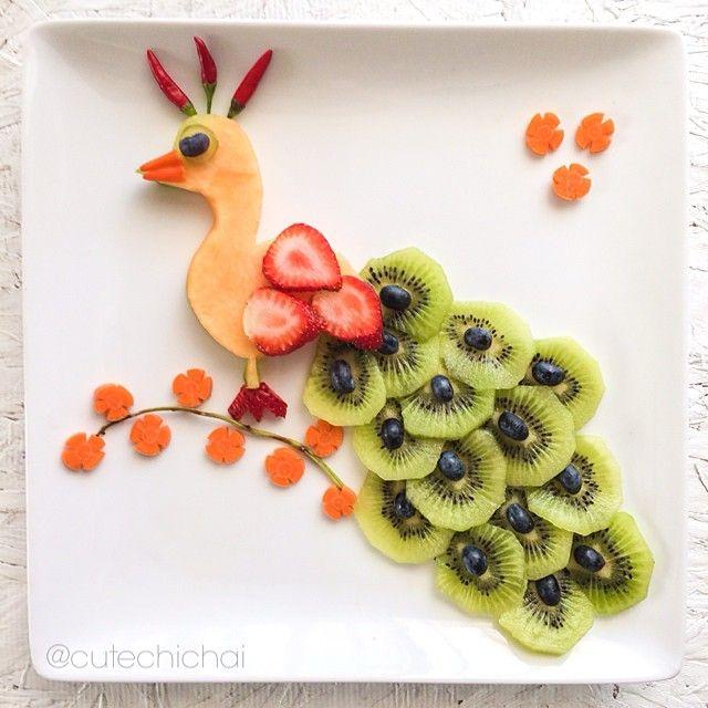 fun food} les assiettes créatives de cute chichai | food art