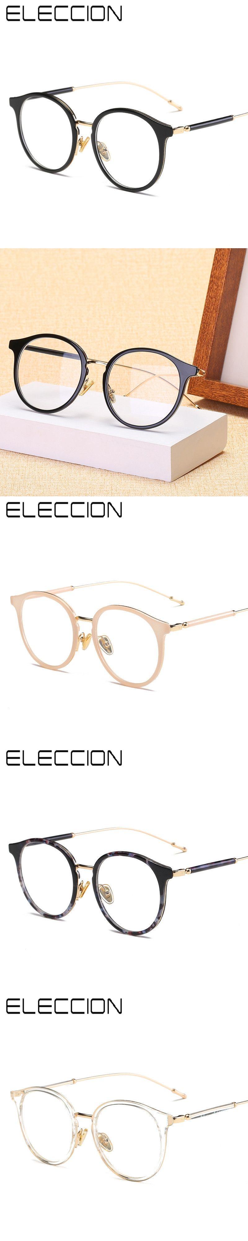 7d964210b3 ELECCION New Vintage Optical Frame Ultem and Metal Frame Round Frame  Glasses Women and Men Prescription Spectacle frames