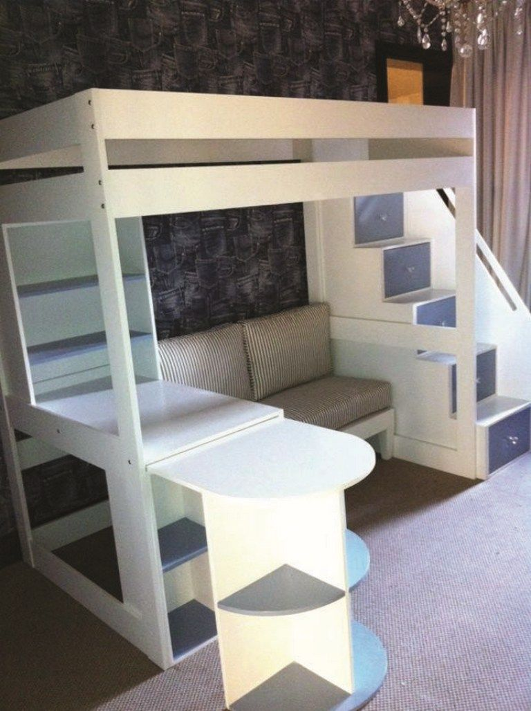 39 Amazing Bunk Beds With Desk Design Ideas Tips Choosing Bunk Beds With Desks 24 Vrogue Co Loft Beds For Teens Girls Loft Bed Bunk Bed With Desk