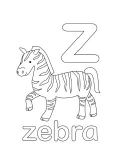 free printable alphabet coloring pages in lovely original illustrations in english and spanish uppercase - Alphabet Coloring Pages Az