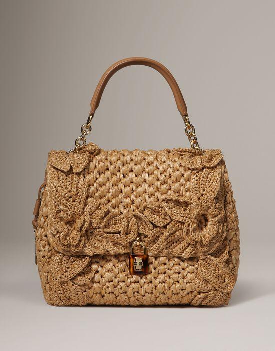 cd31162869f5 Raffia dolce bag Women - Bags Women on Dolce Online Store United Kingdom -  Dolce   Gabbana Group