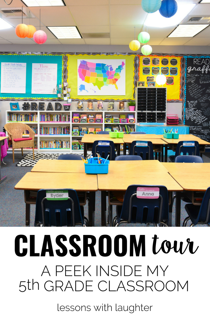 Classroom Tour: A Peek Inside my 5th Grade Classroom | Pinterest ...