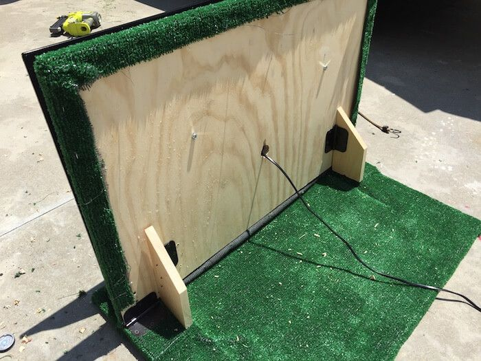 DIY Tailgate TV Setup