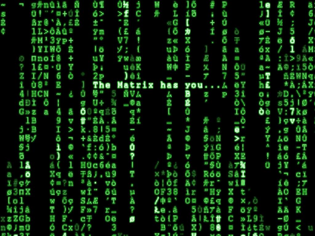 Green Hacker Background Hd