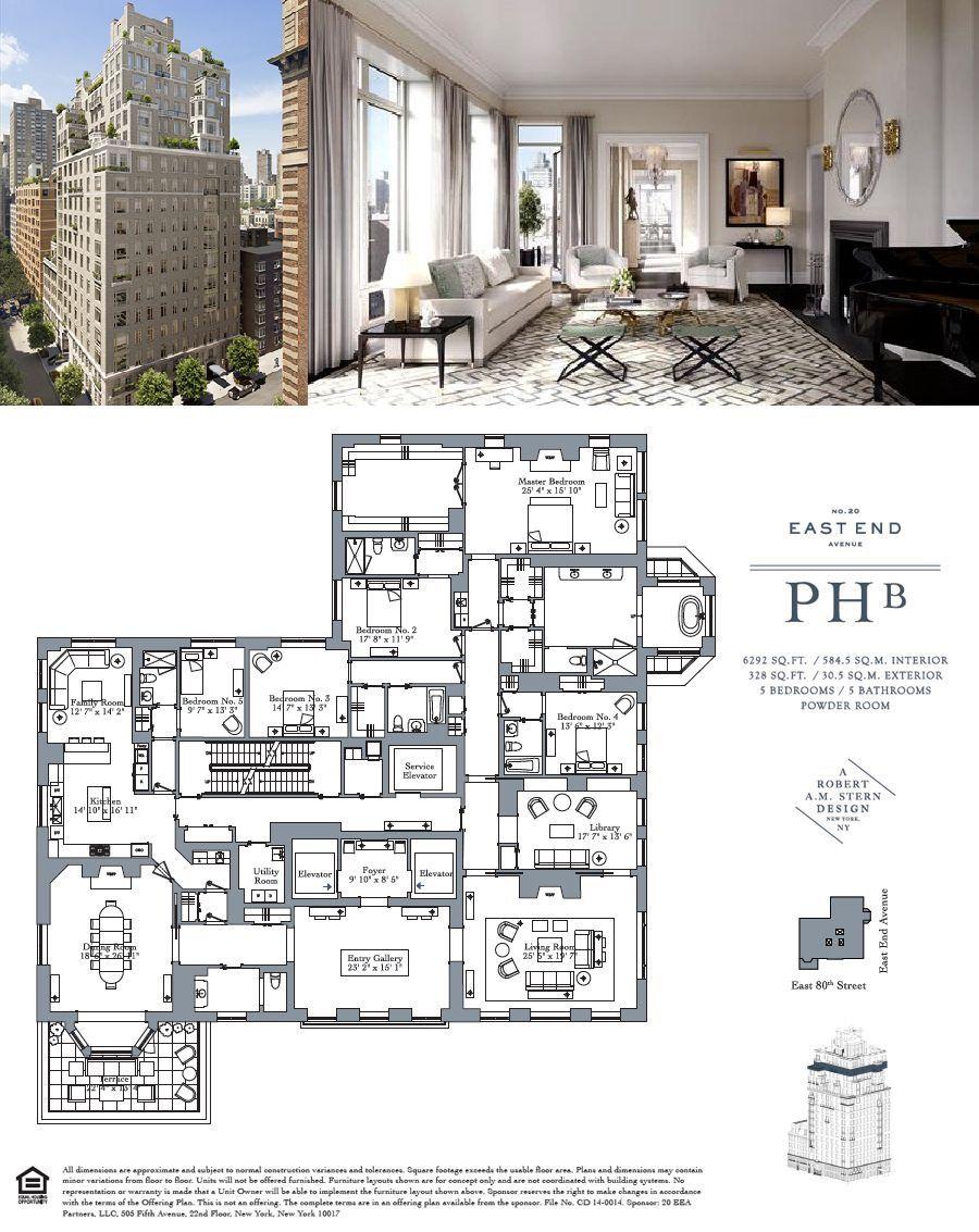 20 Something Manhattan Apartment: Corcoran, 20 East End Avenue, Apt. PHB, Upper East Side