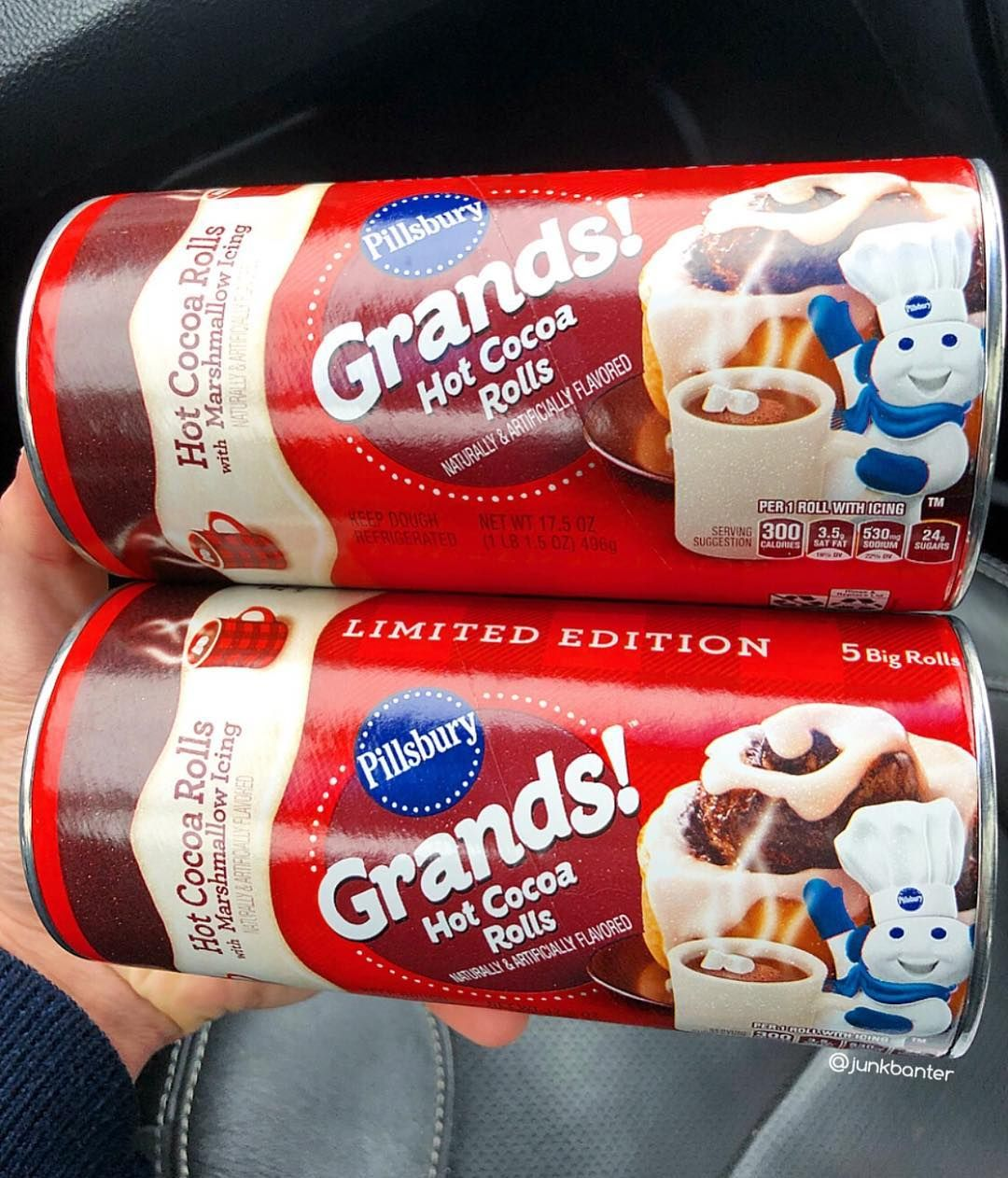 New Pillsbury Grands Hot Cocoa Rolls Walmart Foodie Finds