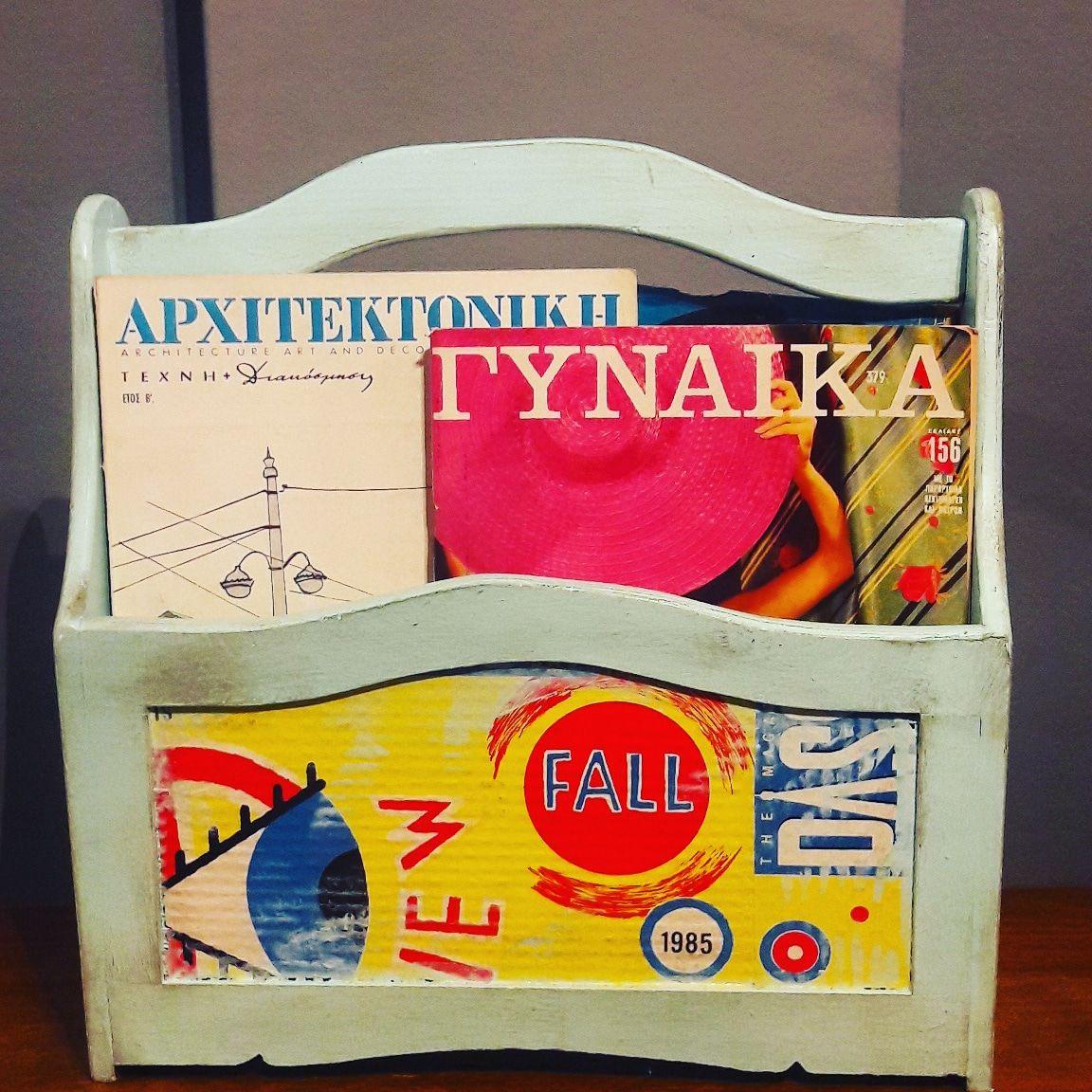 Pop art magazine stand by Piccolaketi