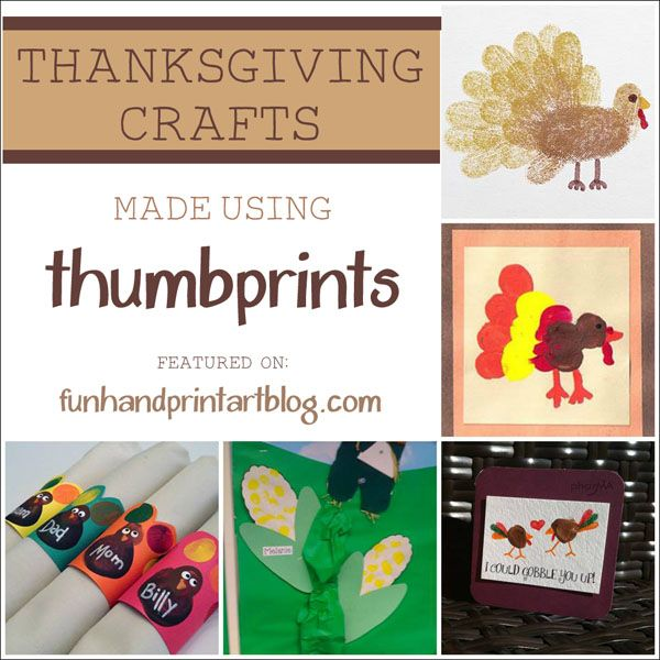 With handprint turkeys being so popular, I wanted to change it up by sharing thumbprint Thanksgiving crafts that can be enjoyed by kids of different ages.