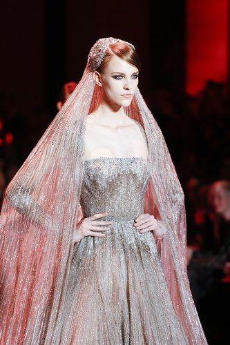 Robe de mariée Elie Saab Haute Couture - Les robes de mariée Haute Couture automne-hiver 2013/2014