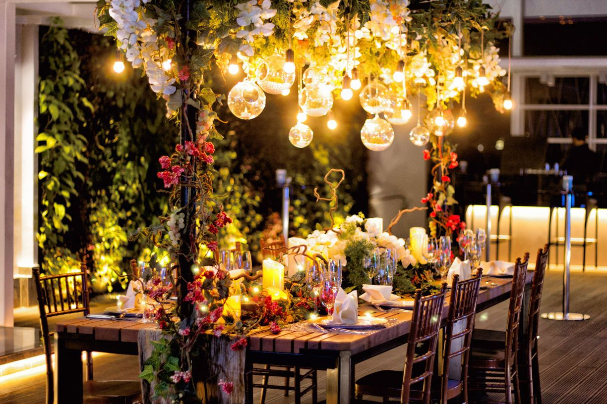 Pin by bridestory on wedding decorations pinterest magical pullman jakarta outdoor venues wedding stage over the top magical wedding event decor bridal table indonesia wedding decorations junglespirit Gallery