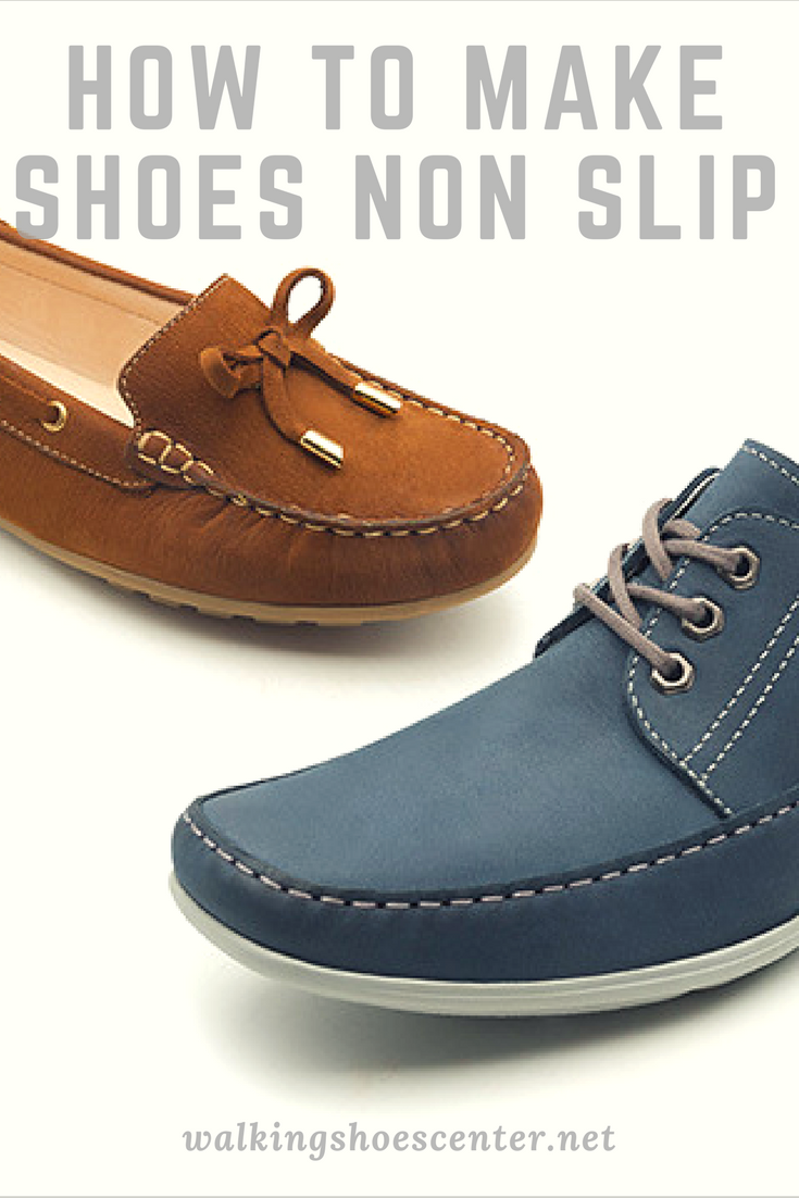 how to make shoes anti slip