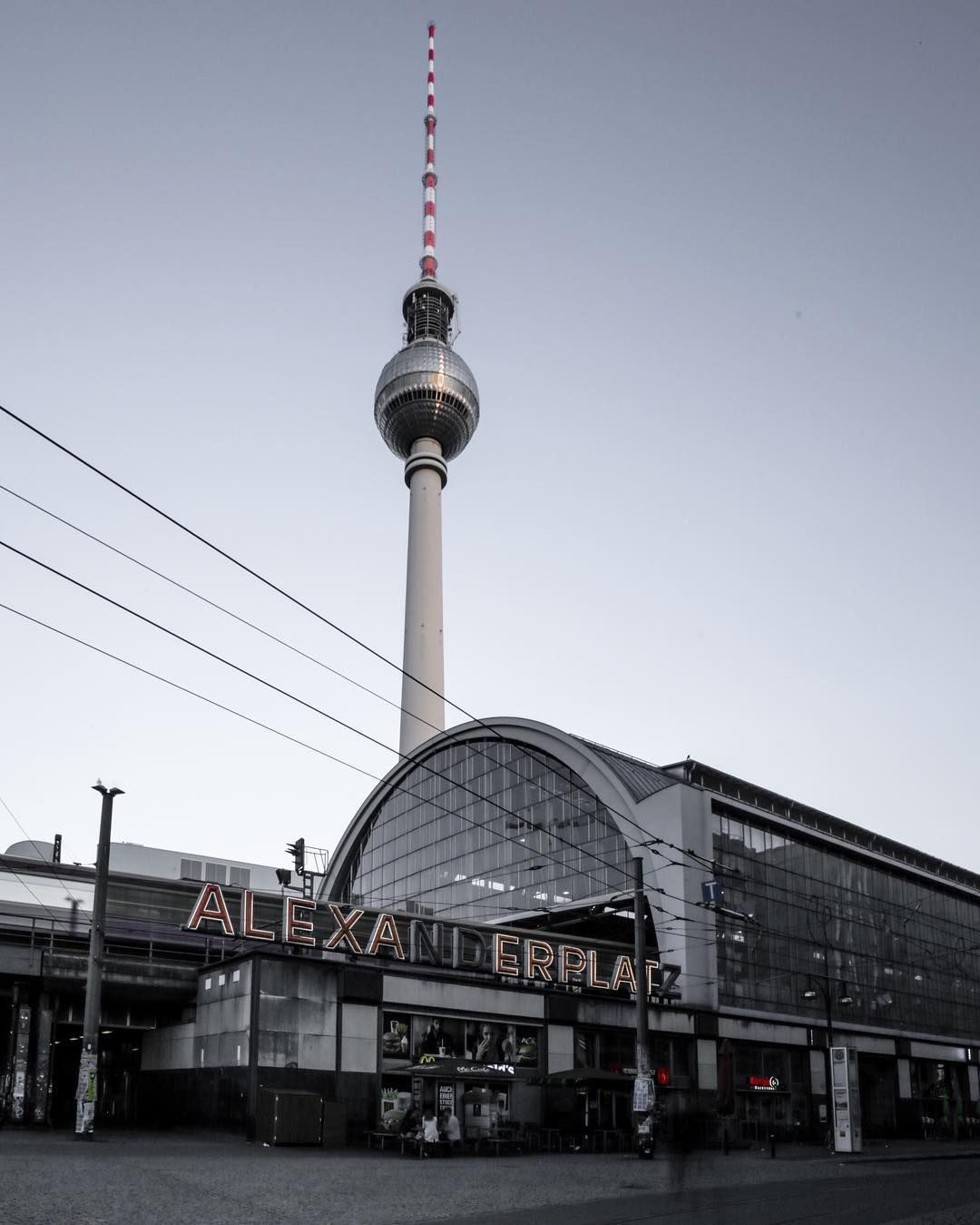 Iconic Alexanderplatz Berlin Germany Netherlands