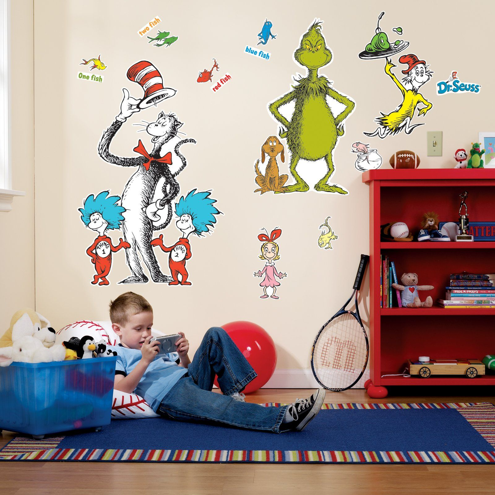 Dr Seuss Giant Wall Decals Dr Seuss Wall Decals Big Wall Stickers Kids Wall Decals