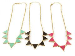 MULTI TRIANGLE NECKLACE | Rings & Tings | Online fashion store | Free worldwide delivery | Rings and Things