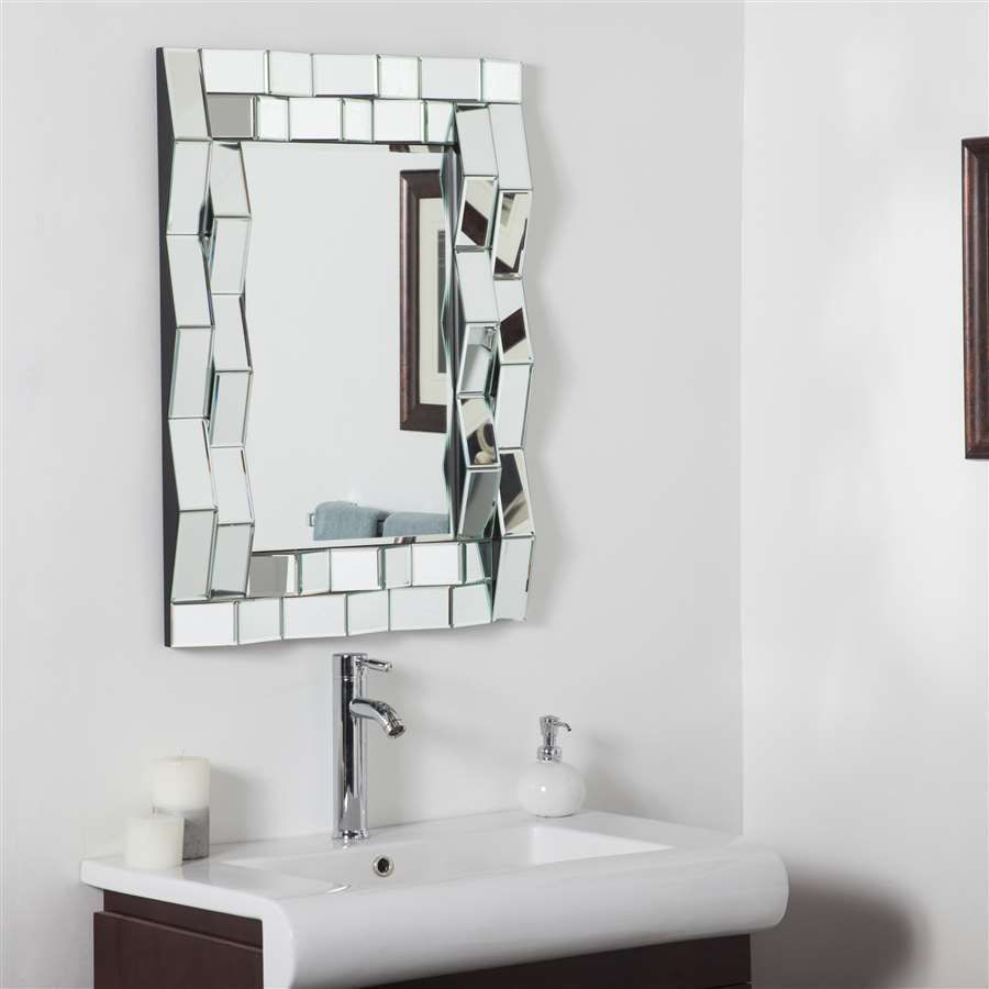 Decor Wonderland Iso Modern Bathroom Mirror - SSD092 | DECORATIVE ...