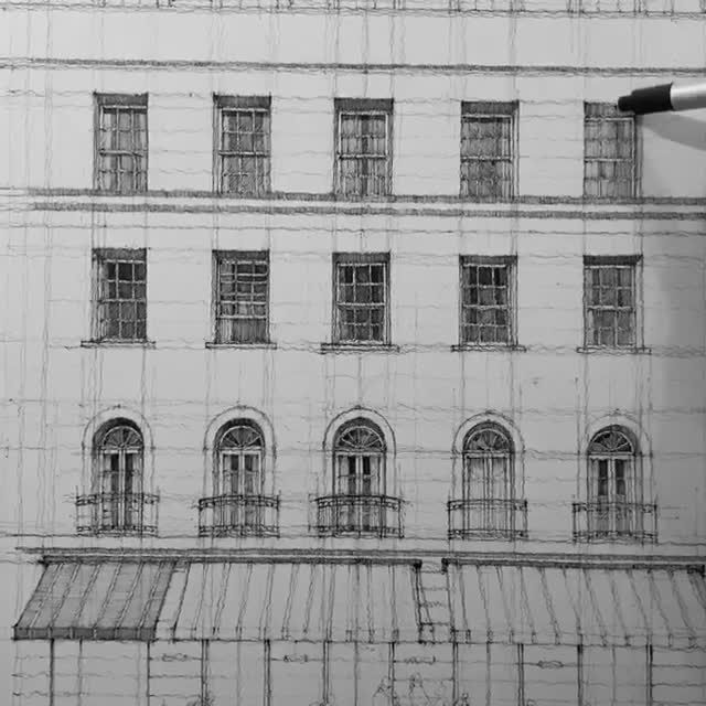 #architecturedrawing #architectureart #sketch #penart #pendrawing #inkart #inkdrawing #drawing
