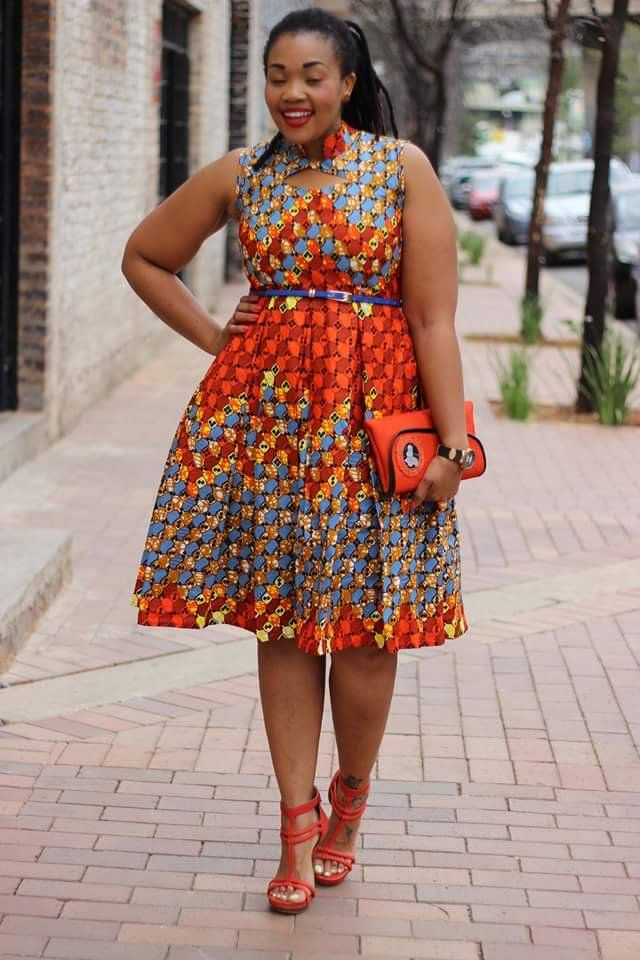 Full Figured Ankara Outfit Inspirations