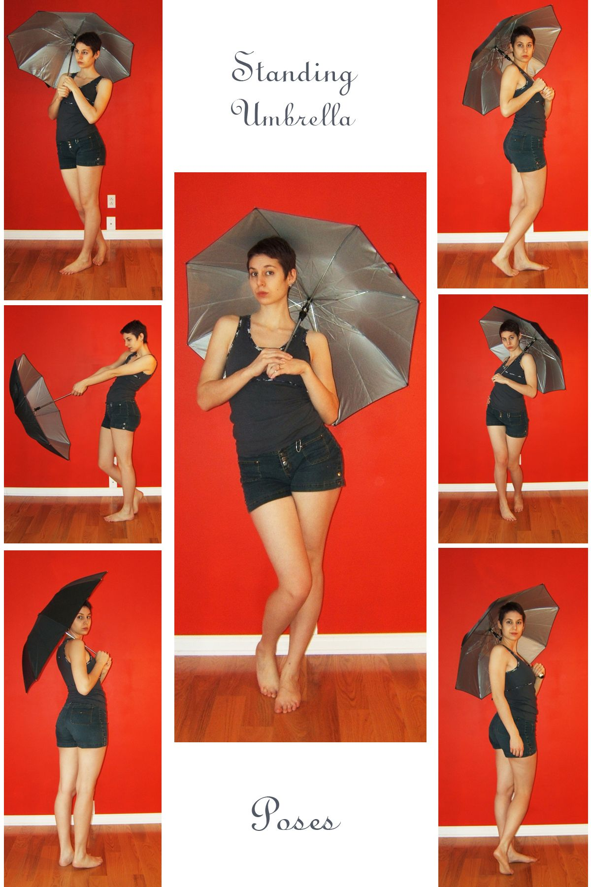 Stock Standing Umbrella By Lalunatique On Deviantart Pose Reference Pose Reference Photo Female Pose Reference