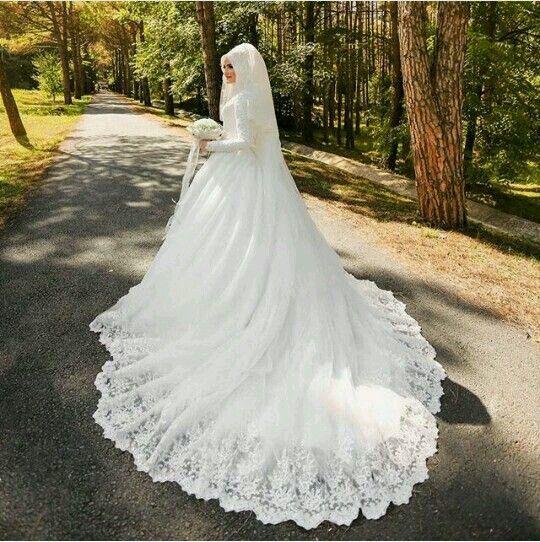 Hijab#wedding#dress | Wedding dresses | Pinterest | Hijab wedding ...