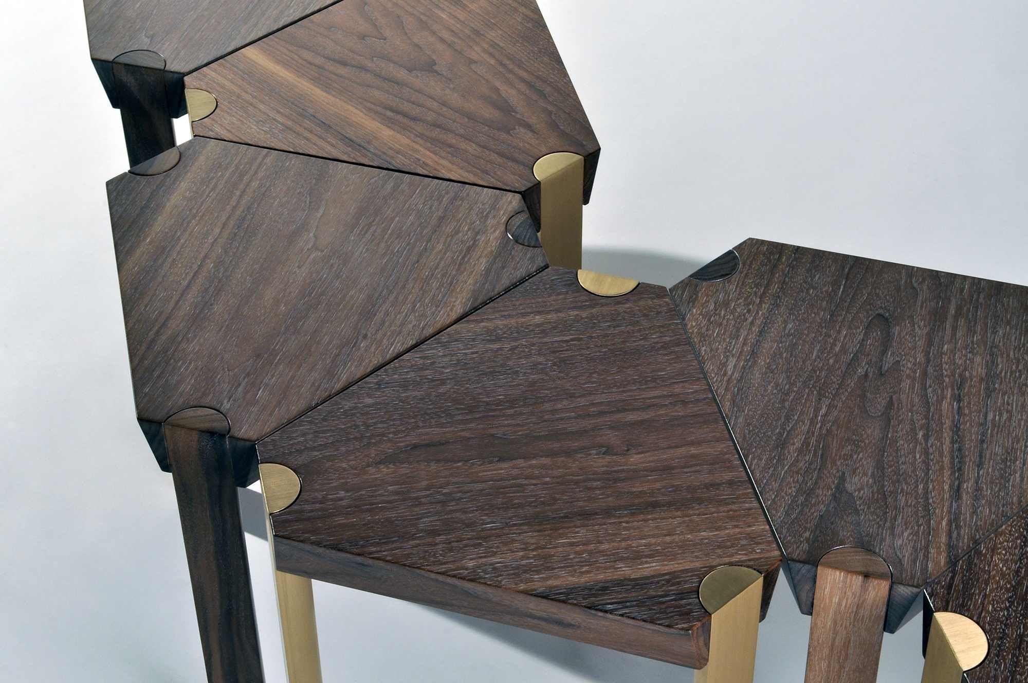 Halcyon Table Series | Matthew Fairbank Design #furniture #furnituredesign #madeinbrooklyn #madeinnyc