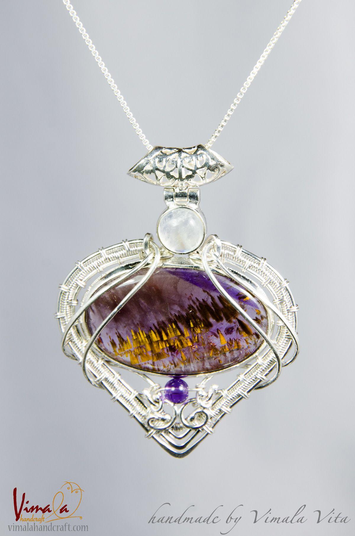 Custom made order: Handmade Silver Jewellery Pendant, (Hybrid ...