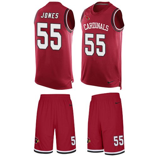 2bac55106 Nike Chandler Jones Limited Red Men s Jersey - NFL Arizona Cardinals  55  Tank Top Suit