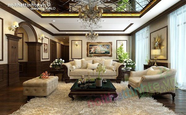 Interior design of Royal city apartment Mr. Duy's house