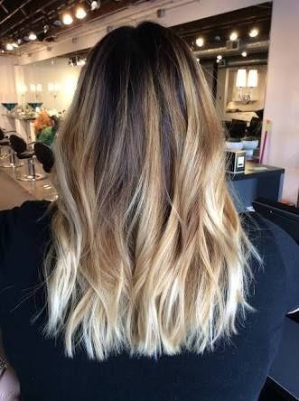 Image Result For Brown Roots Blonde Ends Hair Dark Ombre
