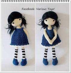 Gorjuss amigurumi crochet pattern/ patrn by luligumis on DeviantArt | 242x236