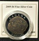 Canada 2009 $4 Pure Silver Fossil Series Tyrannosaurus Rex Coin Only.$70. J234 #tyrannosaurusrex
