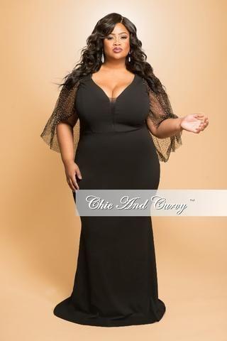 2b6e7f3290733 New Plus Size Floor Length Halter Maxi Dress in Black