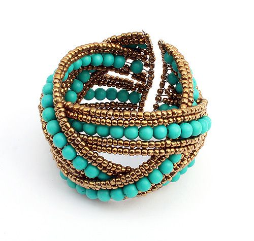 Ivana Bohemian Cuff from LilyFair Jewelry.