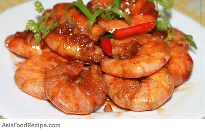 Caramel Shrimp Vietnamese Tom Rim - Hoi An Food Tour : Hoi ...