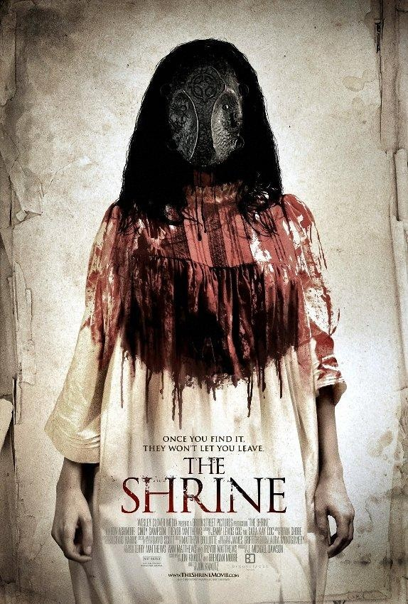 Watch The Shrine 2010 Online The Shrine 2010 The Shrine Director Jon Knautz Cast Aaron Ashmore C In 2020 Horror Movies Horror Movie Posters Scary Movies