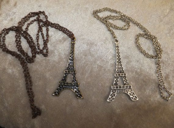 Check out this item in my Etsy shop https://www.etsy.com/listing/178451454/shipping-freeeiffel-tower-necklacelong