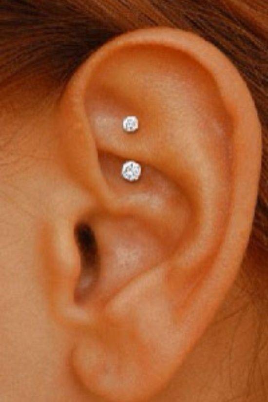 Get Modern Rook Helix Piercing Ideas Ear Piercing Pictures
