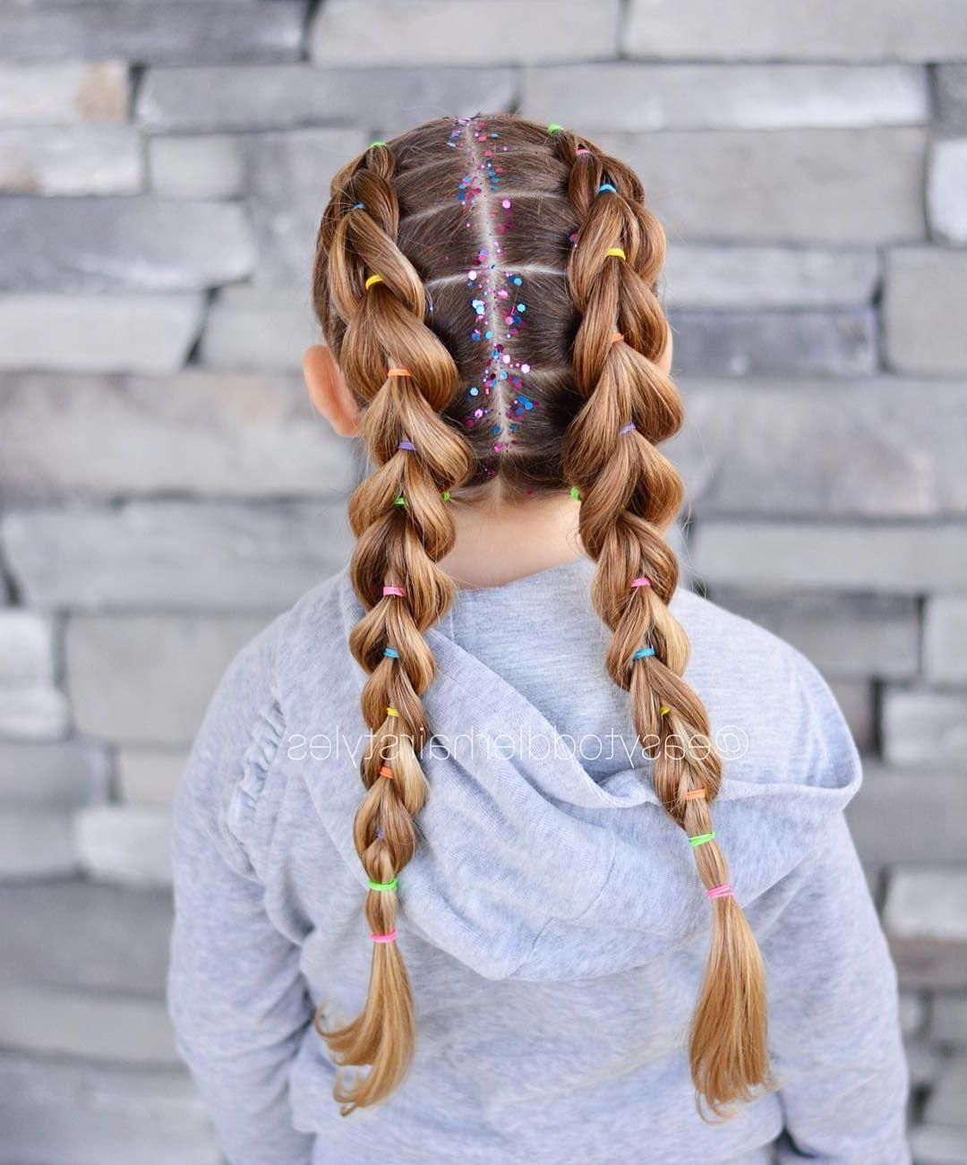 25 easy wacky hairstyles for school girl, below, i have