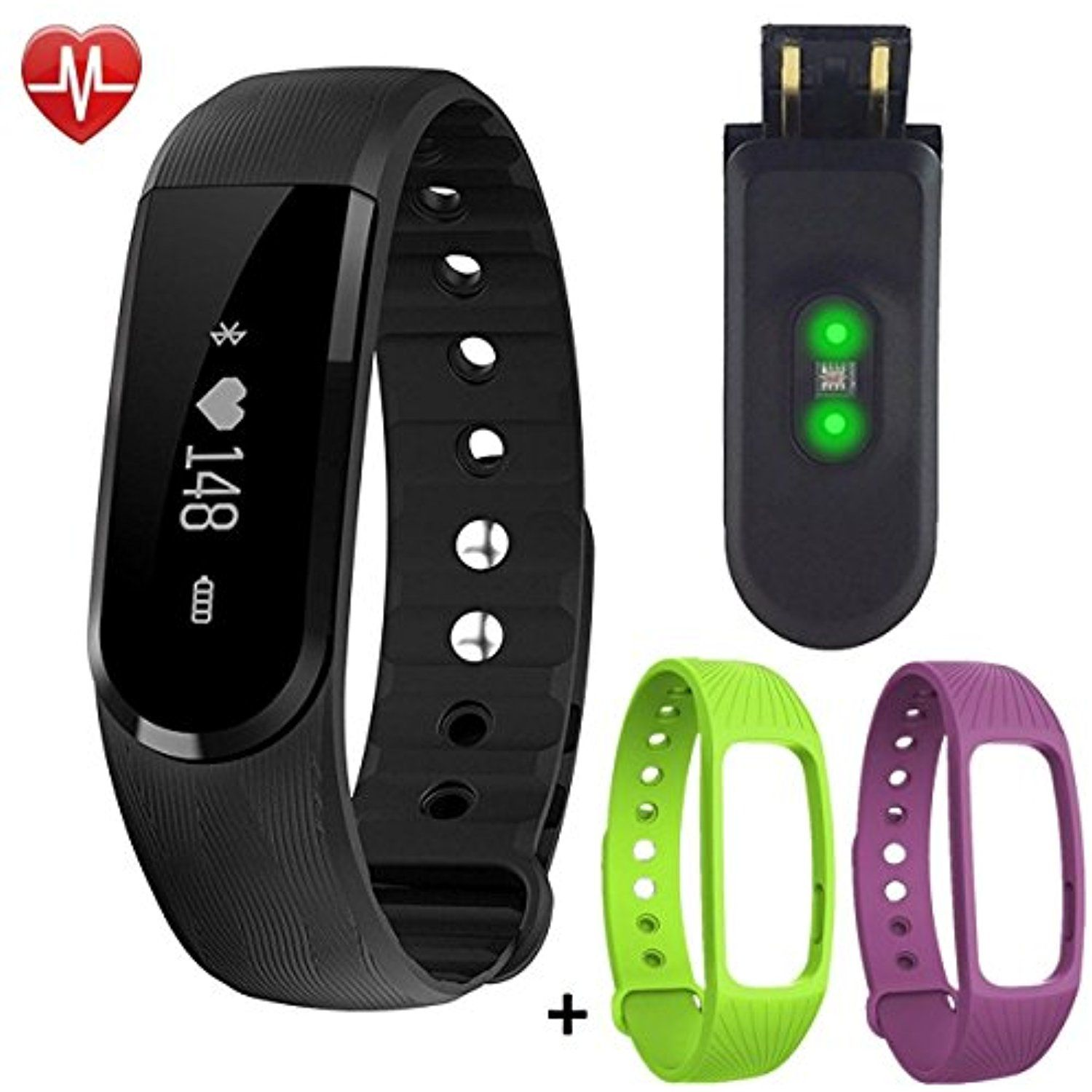 monitor calorie watch activity sleep with wristband compatible watches android itm smart sports pedometer iphone fitness bracelet tracker delvfire counter