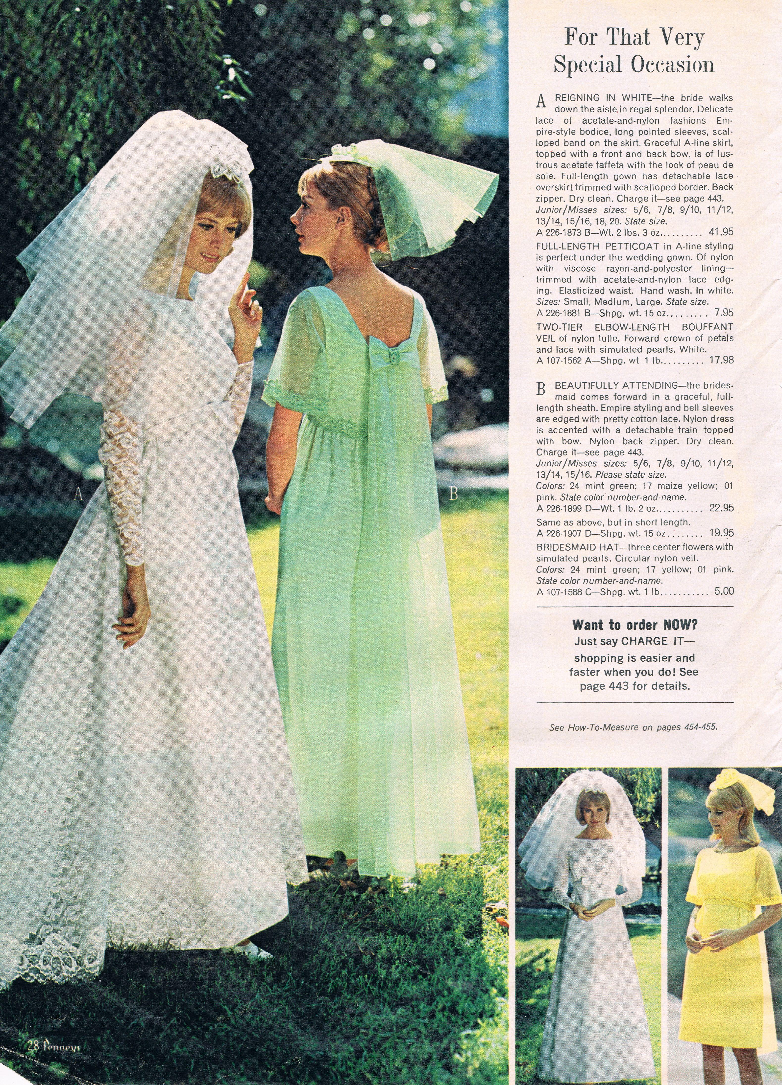 Penneys catalog 60s | Vintage Brides | Pinterest | Vintage ...