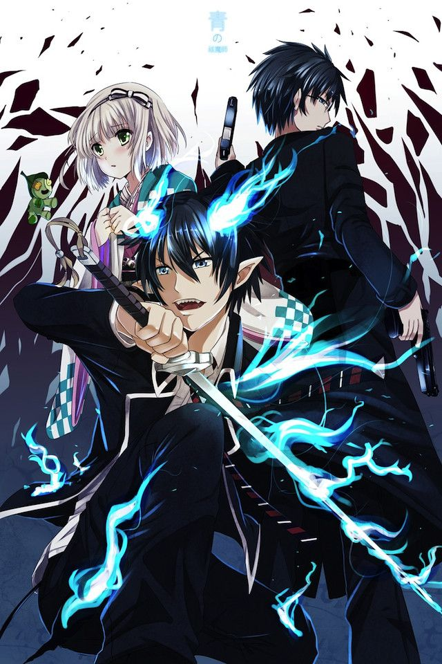 Blue Exorcist Wallpaper Iphone Wallpapersafari Blue Exorcist Anime Blue Exorcist Exorcist Anime