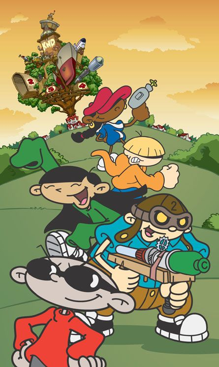 Wow I had completely forgotten about Codename: Kids Next Door !!!