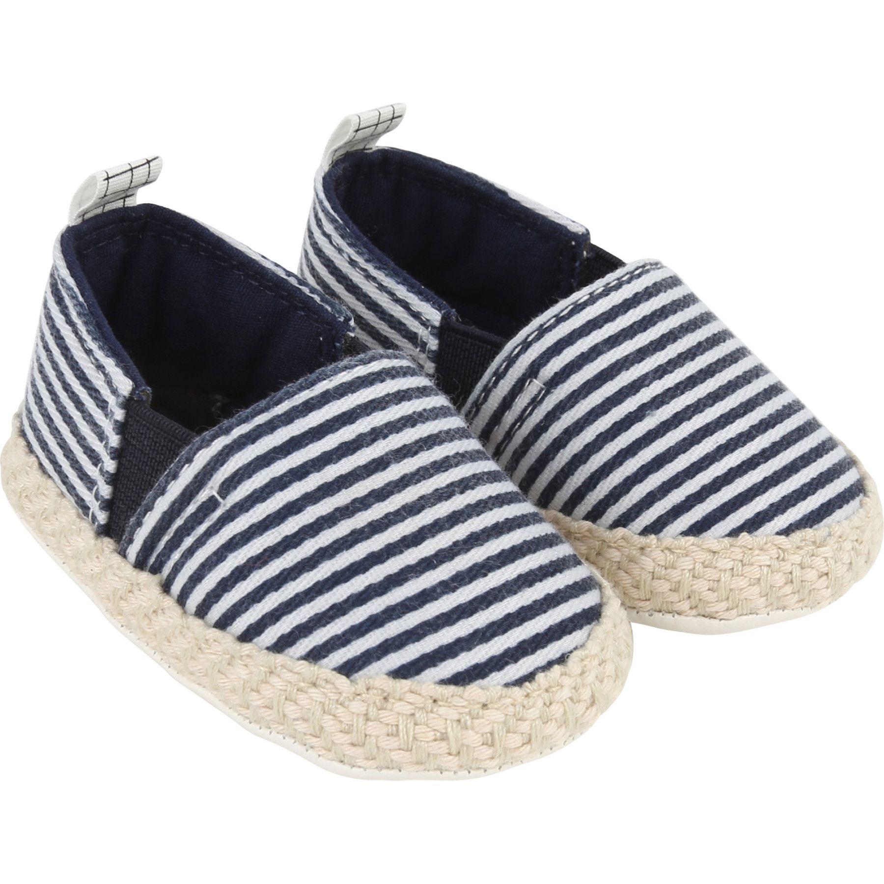098d94e9dbe91 Bébé Chaussures et accessoires   Espadrilles rayées   CARREMENT BEAU    GARCON Kids around