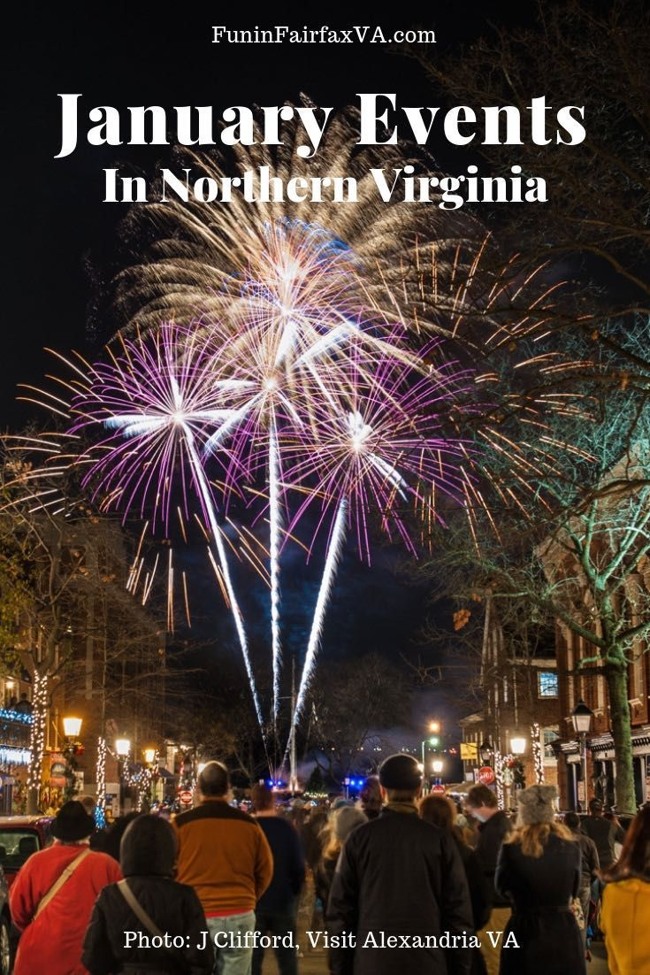 2020 January Events in Northern Virginia Festivals and