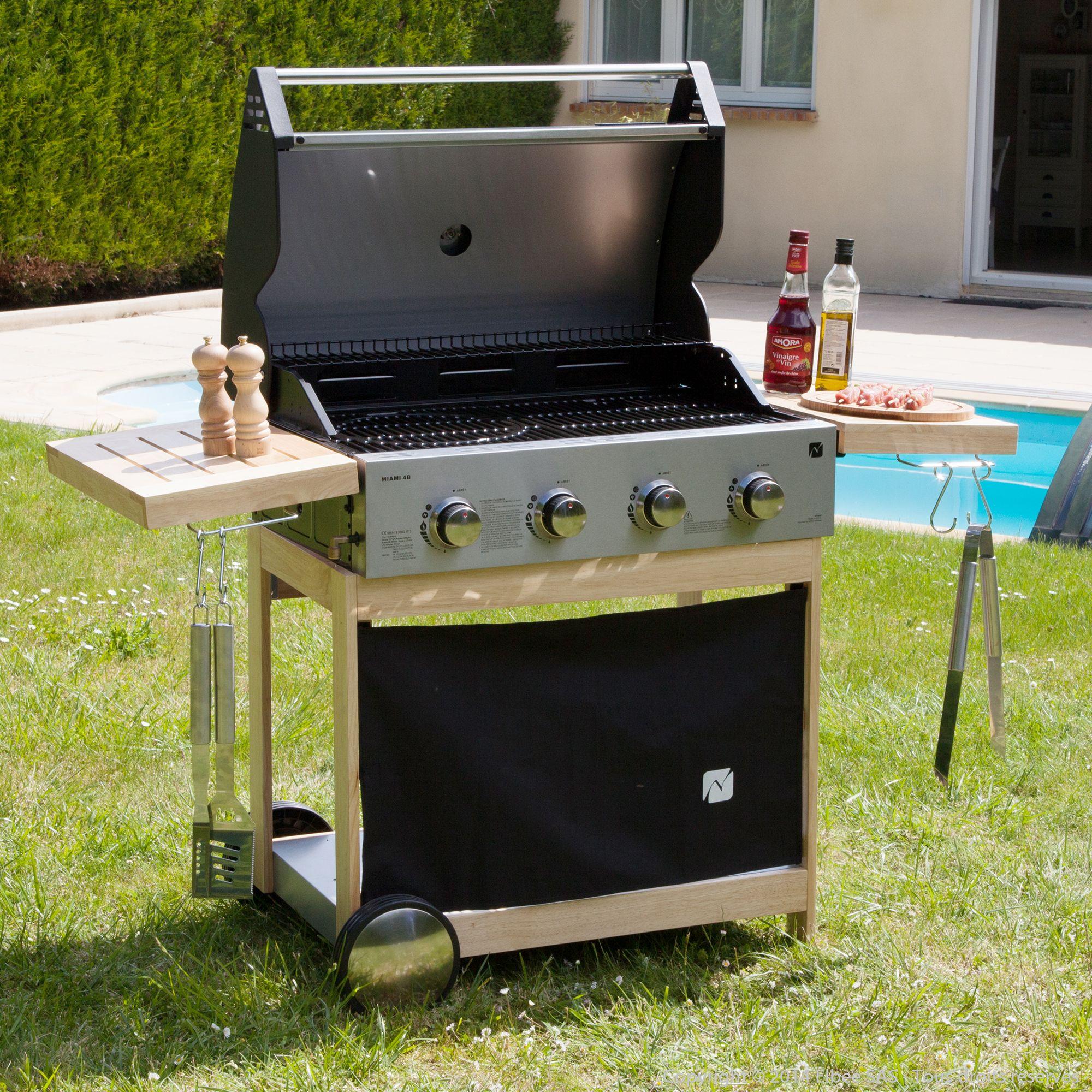 barbecue gaz 4 bruleurs beaux jours