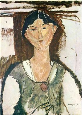 Beatrice Hastings - Amedeo Modigliani
