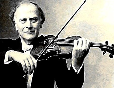 Yehudi Menuhin, violinist