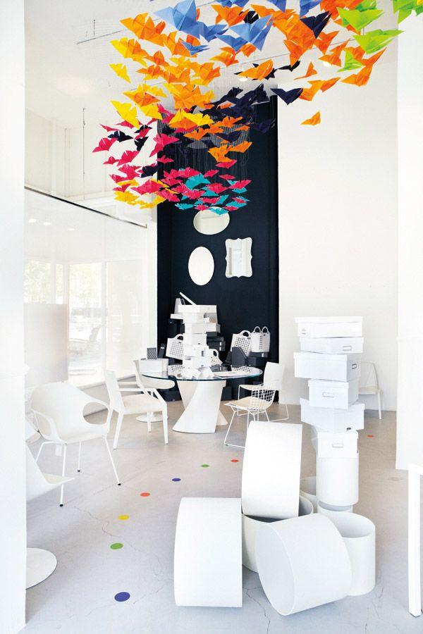 DIY Colour Idea For Your Residence Origami Butterflies Decoration Ideas Vibrantcanvasprints