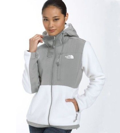 chaqueta north face mujer blanca
