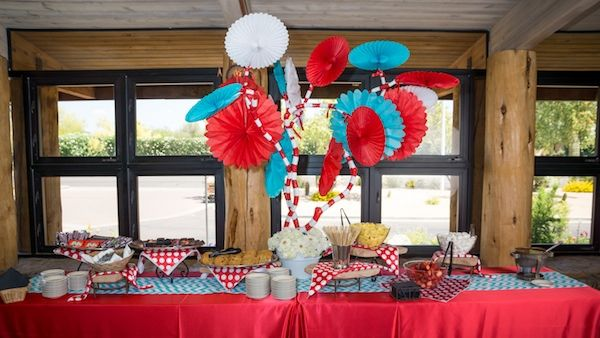 Scrumptious Snacks For Guests At A Magical Dr. Seuss Baby Shower